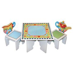 Anatex MET2817 Mary Engelbreit Tea Time Table & Chairs