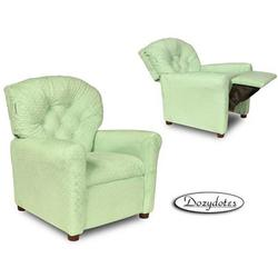 Dozydotes 10769 Minky Dot Classic 7 Button Recliner, Green Sherbet