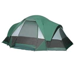 Gigatent FT016 White Cap Mountain Family Tent - Green / White