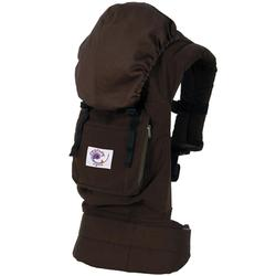 Ergo Baby BC9TODCK Organic Twill Dark Chocolate Baby Carrier with Kona Lining