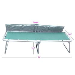 Gigatent FCM Comfort Cot with Mattress