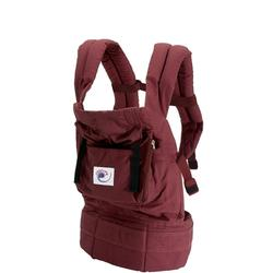 Ergo Baby BC4S Cranberry Baby Carrier with Cranberry Lining