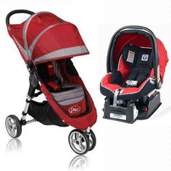 Baby Jogger 81106kit 2011 City Mini Travel System Kits Crimson Gray And Red Free Shipping Coupons And Discounts May Be Available
