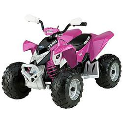 Peg Perego IGOR0045 Pink Polaris Outlaw Ride On Toy