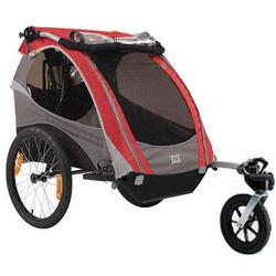 Burley 948205RSKIT D-Lite Red Trailer with Stroller Kit