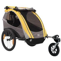 Burley 948205YSKIT D-Lite Yellow Trailer with Stroller Kit