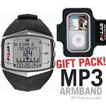 Polar 99039721 FT60  Heart Rate Monitor, Female Black with MP3 Armband
