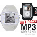 Polar 99039713 FA20 Activity Computer Watch, Female White with MP3 Armband