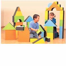 Edushape 710140 Jumbo Textured Blocks