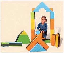 Edushape 710144 Jumbo Textured Blocks
