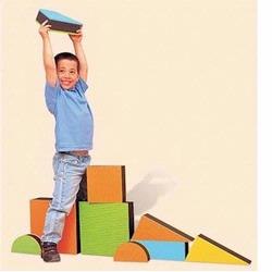 Edushape 710148 Jumbo Textured Blocks