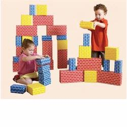 Edushape 709052 Corrugated Blocks