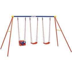 Kettler 8382 790b Multi Play Swing Set With Baby Swing Seat Glider