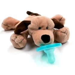 Wubbanub WN22294, Brown Puppy Pacifier - Brown Puppy