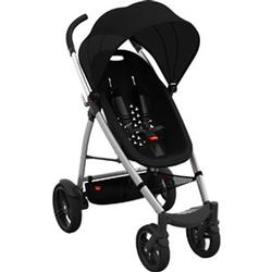 Phil & Teds SMBUGGY, Smart Buggy Single Stroller with Diaper Bag  - Black