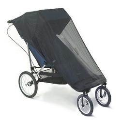 Baby Jogger 87M20, Liberty Special Needs Stroller Mesh Bug Canopy - Black Mesh
