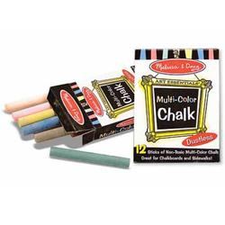 Melissa & Doug 4130 12 Multi-Colored Chalk Sticks