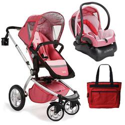 Maxi-Cosi CV053LYPKIT,  Foray Stroller Travel System - Lily Pink