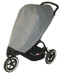 Sashas Kiddies Model Phil & Teds Single Sport Buggy Sun Cover