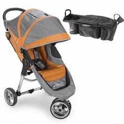 Baby Jogger 87109consol City Mini  - Orange-gray W/parent Console Picture