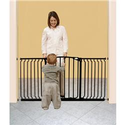 DreamBaby F170B  Hallway Security Gate, Black