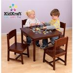 KidKraft 26681, Rectangle Table & 2 Chair Set - Natural - Coupons ...