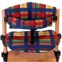 Kettler 5032-447 Junior High Chair Padding, Plaid