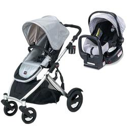 Britax U281774KIT2, B-Ready Stroller and Chaperone Infant Carrier/Child Seat - Silver