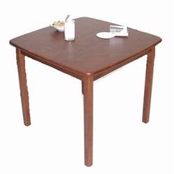Kettler 4569-620 Beechwood Table, Mahogany