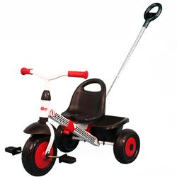 Kettler 8852-600, Kiddi-o® Racer Trike with PushBar - Black/Red/White