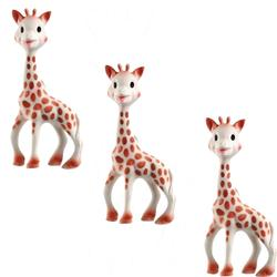 Vullie 616324-3 Sophie the Giraffe Teether (Set of 3!)