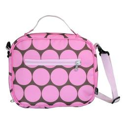 Wildkin 18085 Big Dots - Pink Lunch Bag
