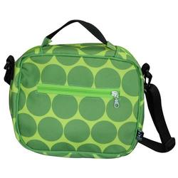 Wildkin 18086 Big Dots - Green Lunch Bag