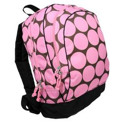 Wildkin 14085 Big Dots - Pink Backpack