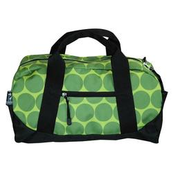 Wildkin 25086 Big Dots - Green Duffel Bag