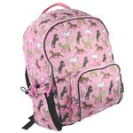 Wildkin 32020 Horses in Pink Large Backpack