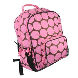 Wildkin 32085 Big Dots - Pink Large Backpack