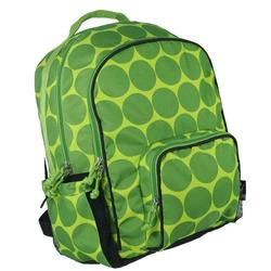 Wildkin 32086 Big Dots - Green Large Backpack