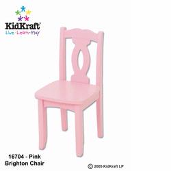 KidKraft 16704 Brighton Chair - Pink