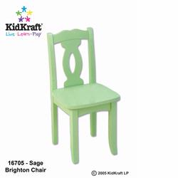KidKraft 16705 Brighton Chair, Sage