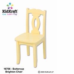 KidKraft 16706 Brighton Chair, Buttercup