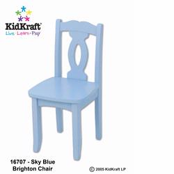 KidKraft 16707 Brighton Chair, Sky