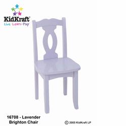 KidKraft 16708 Brighton Chair, Lavender