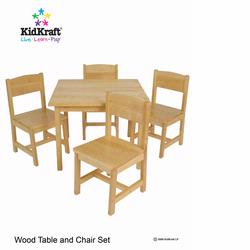KidKraft 21421 Farmhouse Table & Chairs