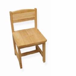 KidKraft 16118 Aspen Single Chair, Natural