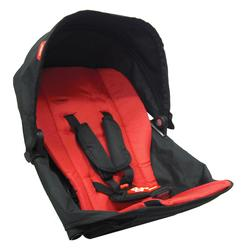 Phil and Teds EXDK_V1_11 Explorer Stroller Doubles Kit - Red Black