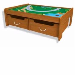 KidKraft 17840 Train Table, Honey
