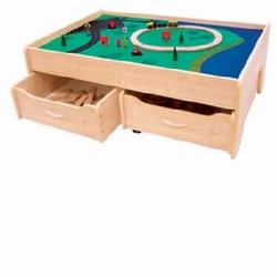 KidKraft 17851 Train Table, Natural