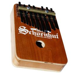 Schoenhut 810C, 8 Note Thumb Piano Dished - Cherry
