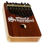 Schoenhut 810W, 8 Note Thumb Piano Dished - Walnut